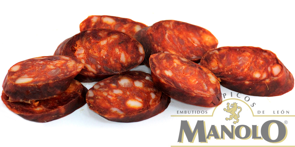 Lonchas de Chorizo Embutidos Manolo
